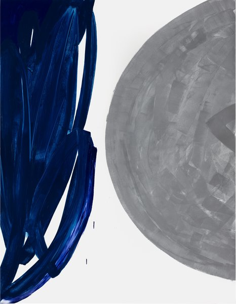 untitled, 2020, acrylic on aluminum, 85.83 x 66.91 in